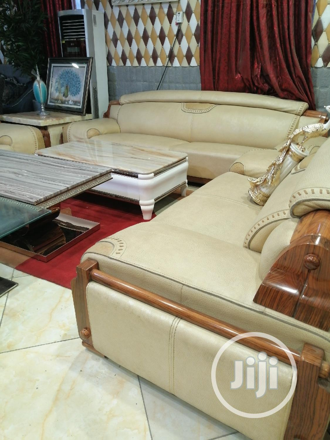 Luxurious 7 Seater Animal Skin Soafer | Furniture for sale in Lekki, Lagos State, Nigeria