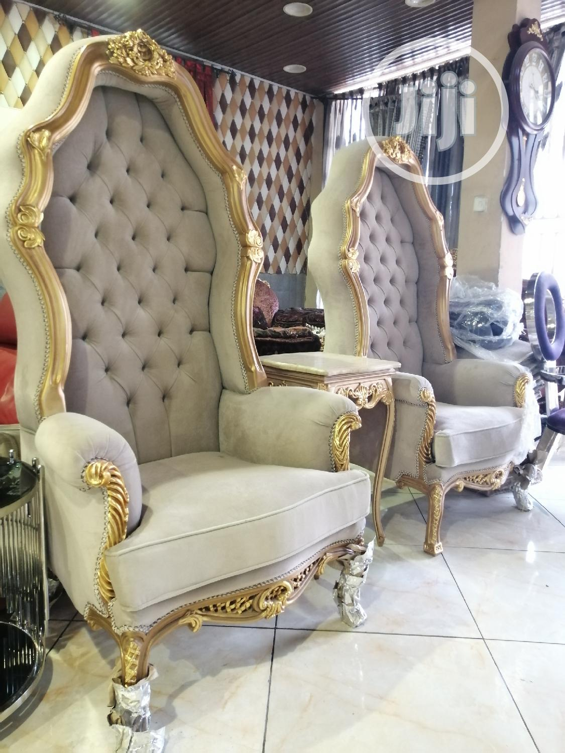 Dual Royal King And Queen Chair