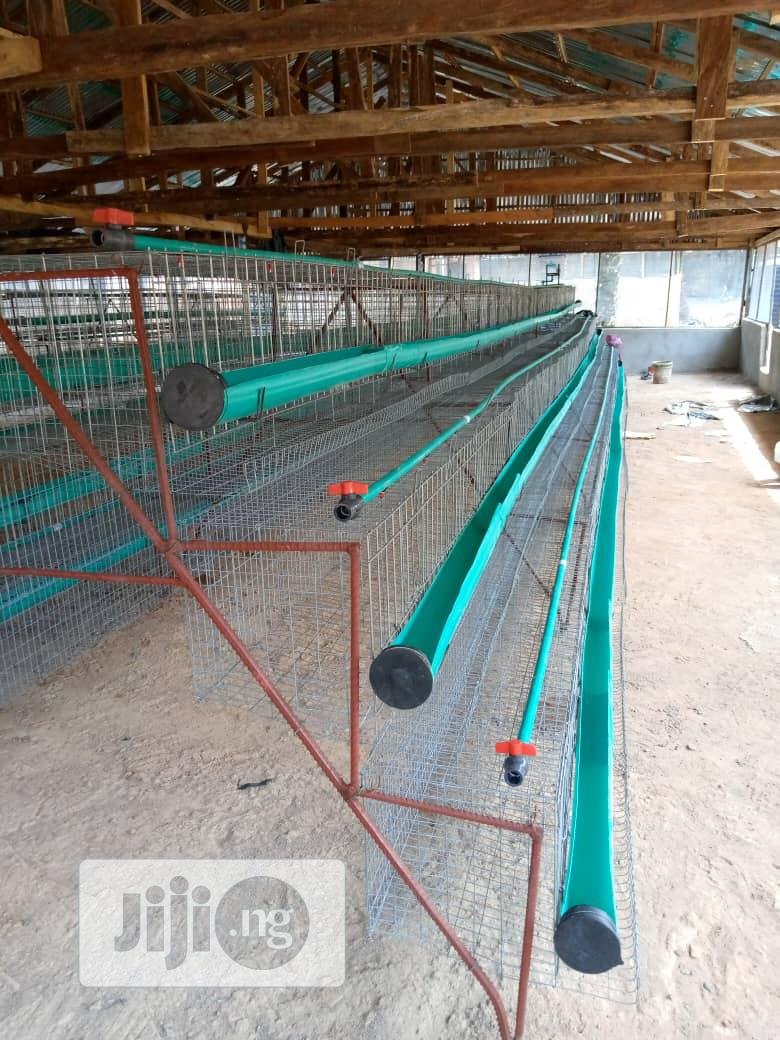 Battery Cage 95birds, 120birds 2000 Bird Are Available, | Farm Machinery & Equipment for sale in Ibadan, Oyo State, Nigeria