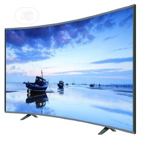 """New Hisense UHD 4K Curved (55""""Inch) Smart TV + Bracket 1year   TV & DVD Equipment for sale in Lagos State, Ojo"""