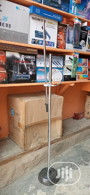 Mic Stand Silver And Black | Musical Instruments & Gear for sale in Lagos State, Ojo