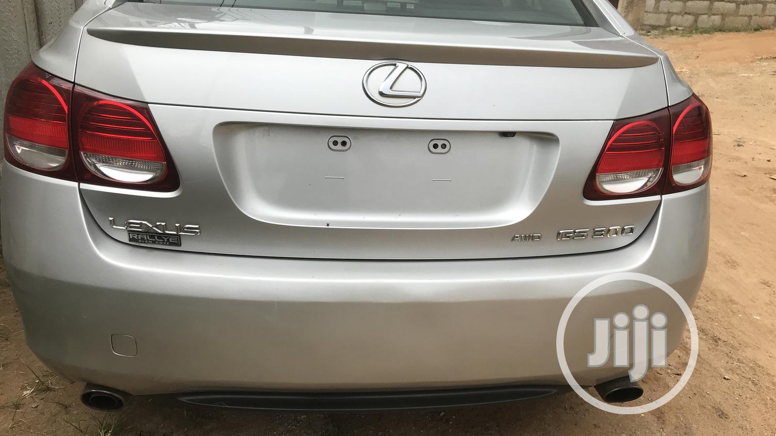 Archive: Lexus GS 300 AWD 2006 Silver