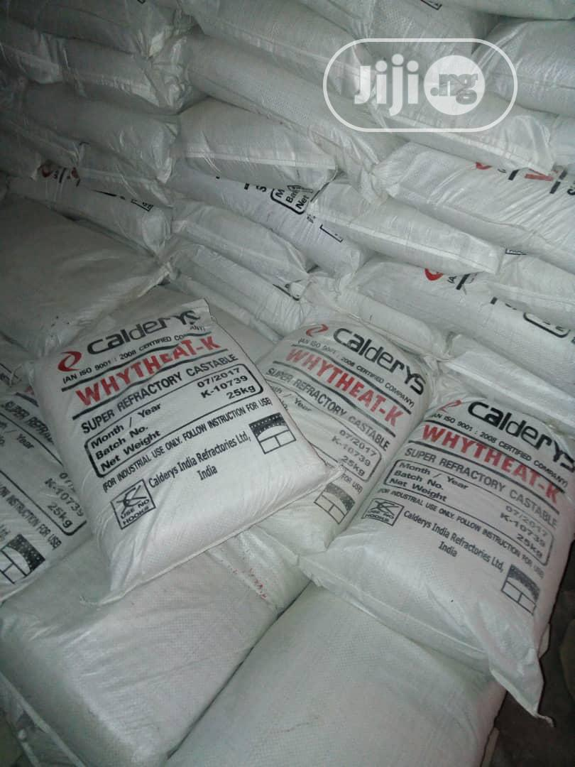 Refractory Cement | Building Materials for sale in Obafemi-Owode, Ogun State, Nigeria