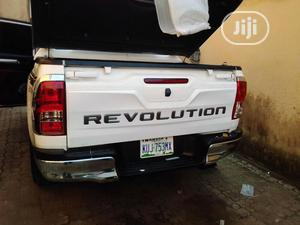 Toyota Hilux 2019 Back Tailboard Revolution Sticker   Vehicle Parts & Accessories for sale in Lagos State, Mushin