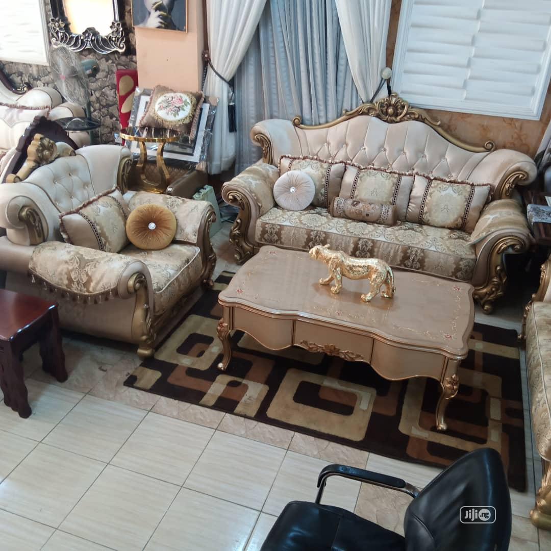 Imported Turkey Fabric Royal Sofa Chair