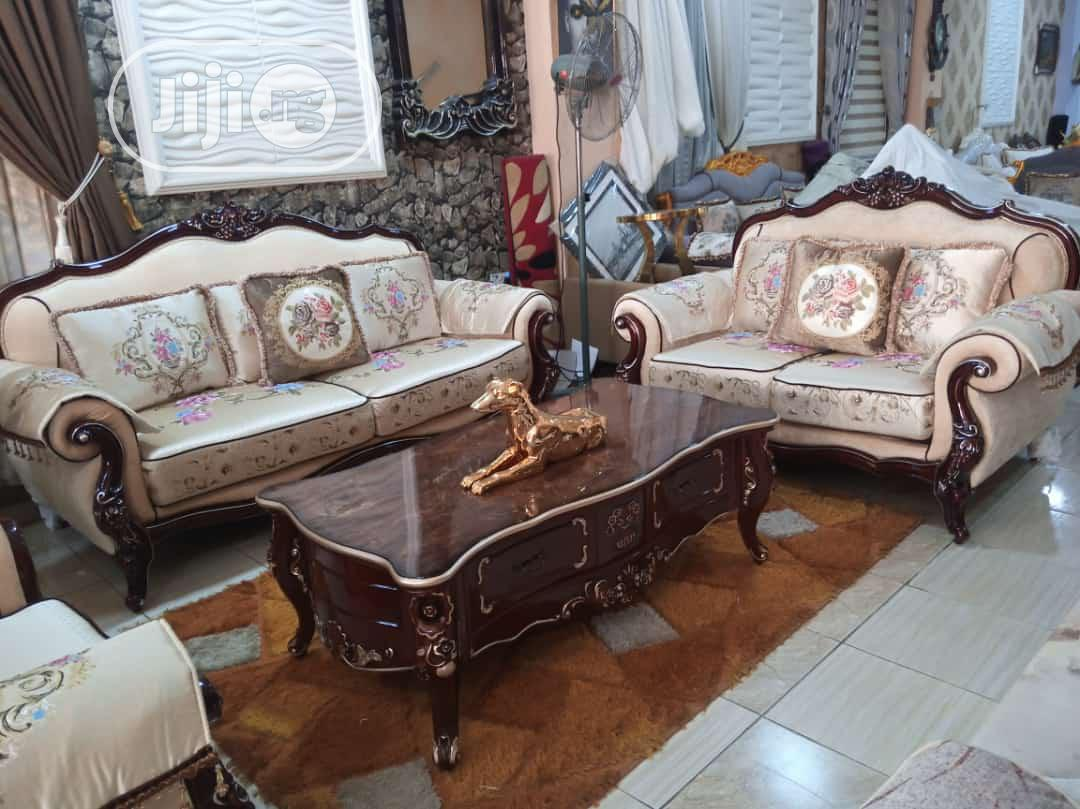Imported Turkey Fabric Royal Sofa Chair | Furniture for sale in Ajah, Lagos State, Nigeria