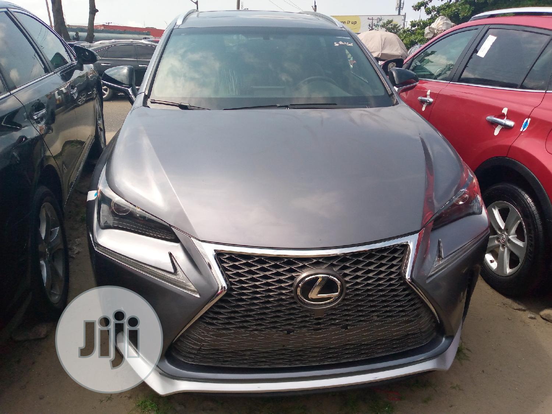 Lexus NX 2017 Gray