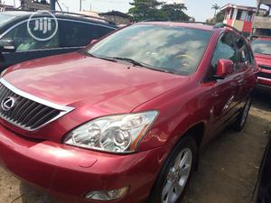 Lexus RX 2009 Red   Cars for sale in Lagos State, Apapa