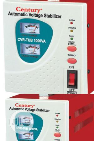 Century Automatic Voltage Stabilizer CVR-TUB 1000VA. | Electrical Equipment for sale in Lagos State, Ojo