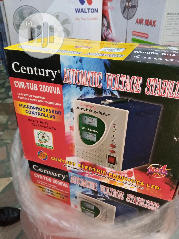Century Automatic Voltage Stabilizer CVR-TUB 1000VA. | Electrical Equipment for sale in Ojo, Lagos State, Nigeria