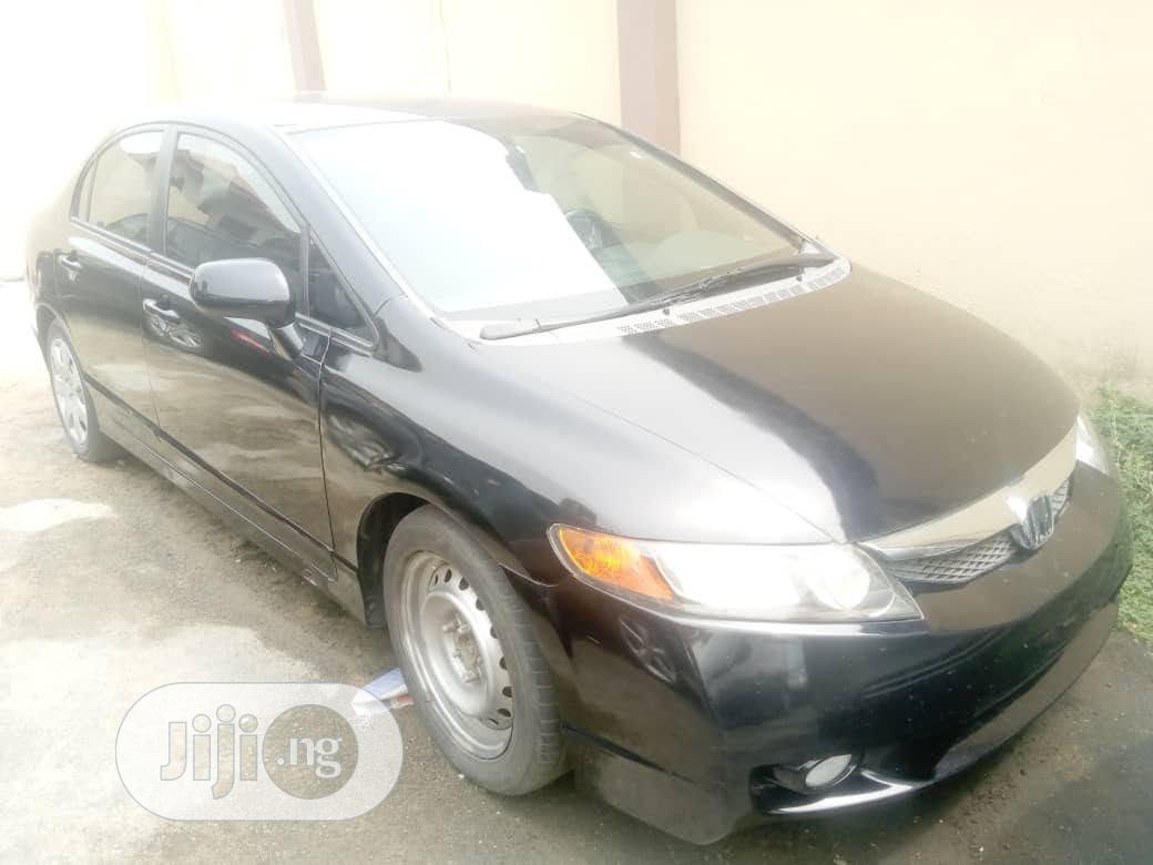 Honda Civic 2007 1.8 Black   Cars for sale in Ikeja, Lagos State, Nigeria