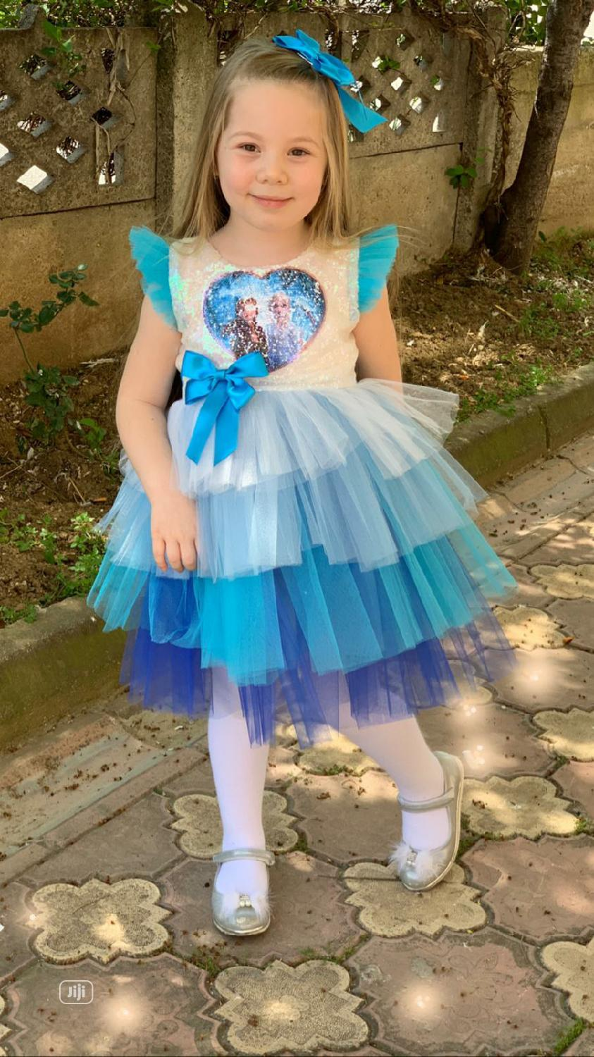 Archive: New Turkey Quality Girls Flare Gown
