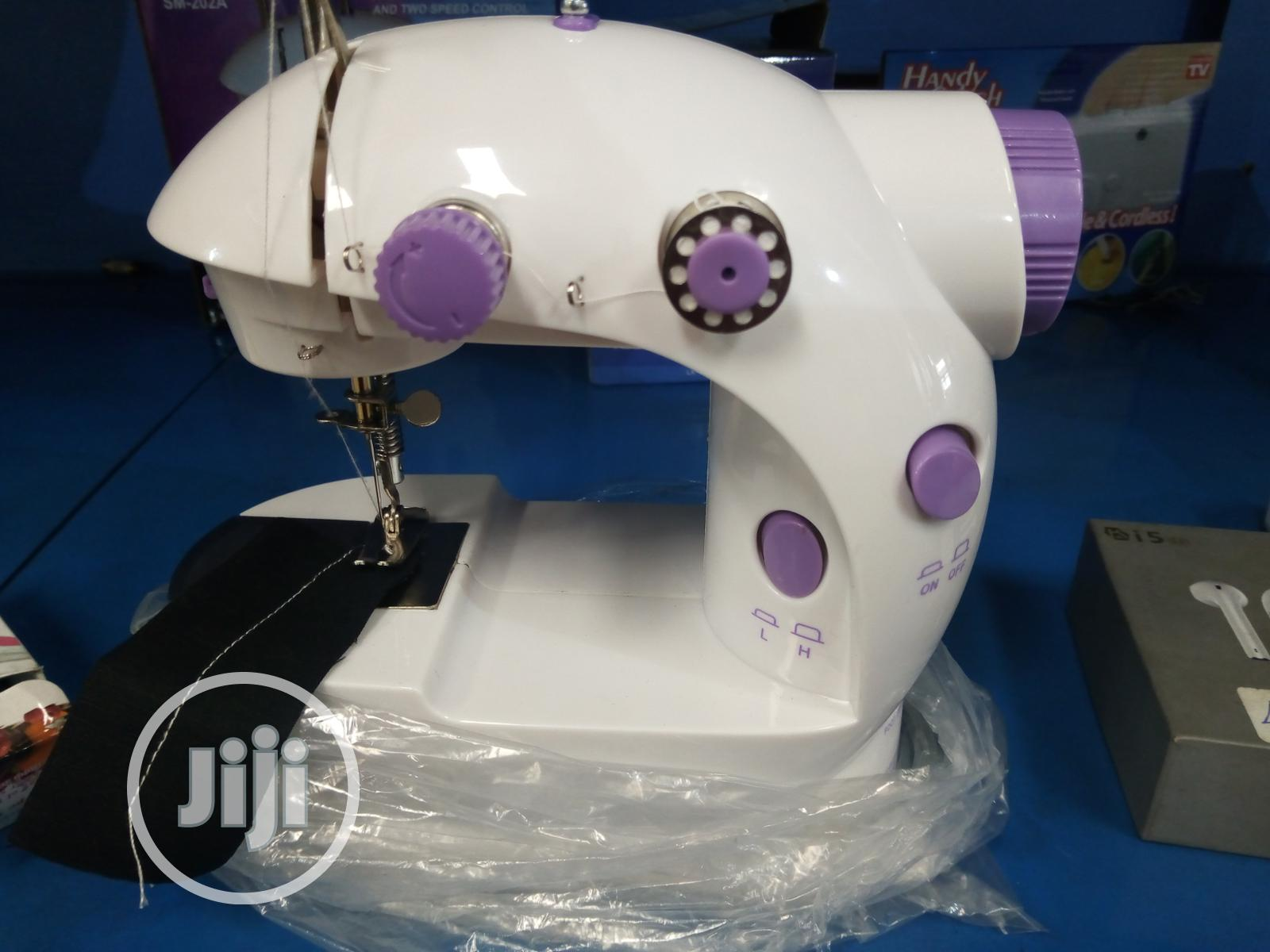 Archive: Portable High Tech Sewing Machine