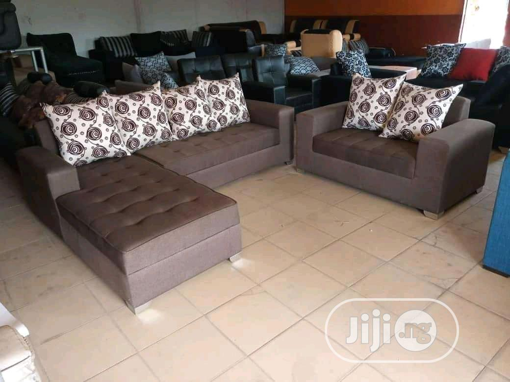 Sofa L Shep Chair Set | Furniture for sale in Ojo, Lagos State, Nigeria
