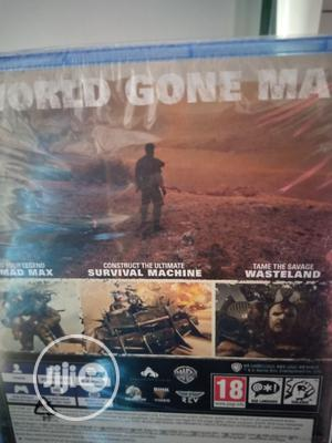 Ps4 Game Mad Max | Video Games for sale in Lagos State, Ikeja