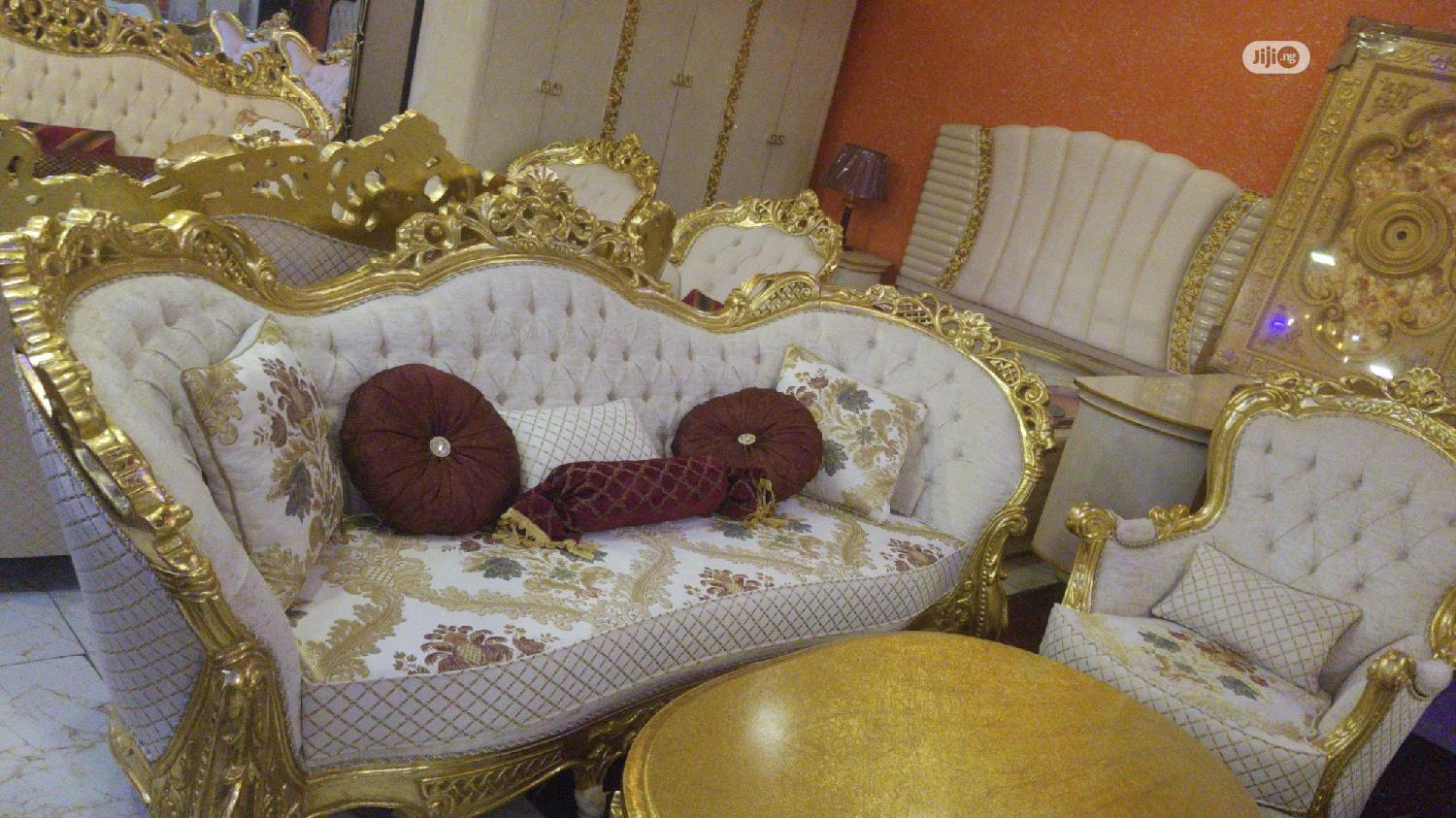 Turkish Royal Sofa Chair Available Now | Furniture for sale in Ajah, Lagos State, Nigeria
