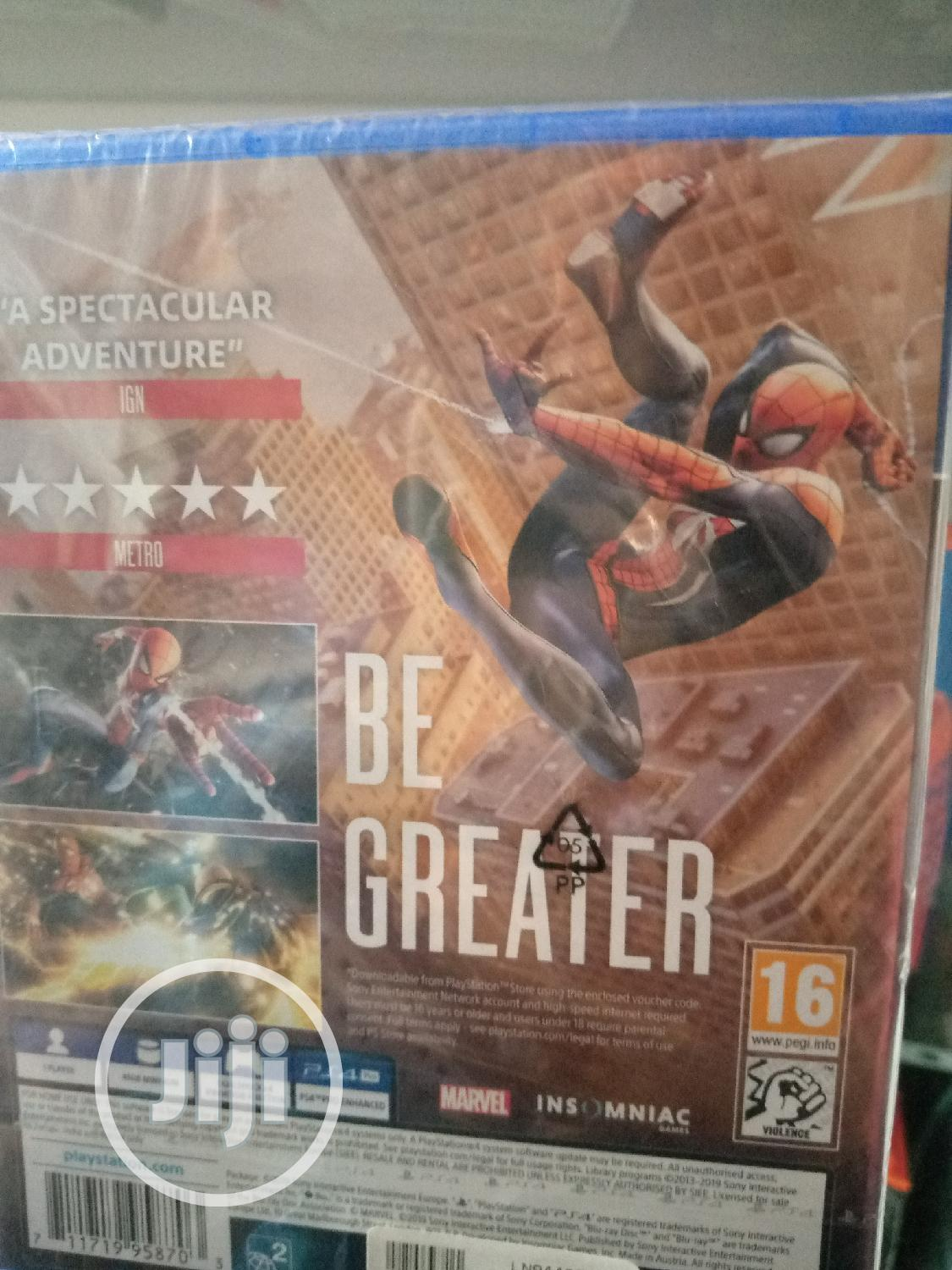 Ps4 Game Spider Man | Video Games for sale in Ikeja, Lagos State, Nigeria