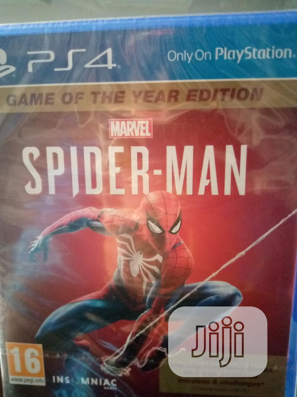 Ps4 Game Spider Man