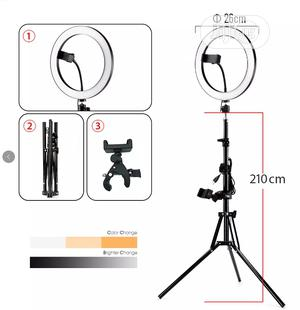 Led Selfie Ring Light With Usbring Lamp,With 2mtripod Stand   Accessories & Supplies for Electronics for sale in Kano State, Fagge