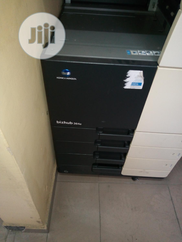 Archive: Konica Minolta Bizhub Black And White Photocopy Machine 364e