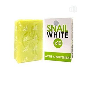 Snail White *10 Acne and Whitening Soap | Skin Care for sale in Lagos State, Alimosho