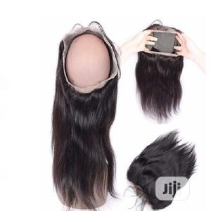 360 Cut Degree Human Hair Closure( All Round) Color 1b   Hair Beauty for sale in Lagos State, Alimosho