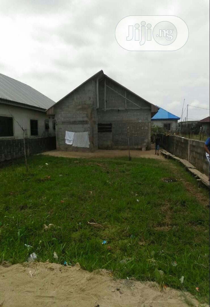 Halp Plot of Land for Sale Opposite Shoprite in Sangotedo.