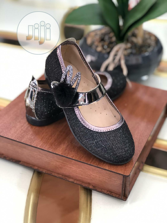Beautiful Adorable Children Black Shoe