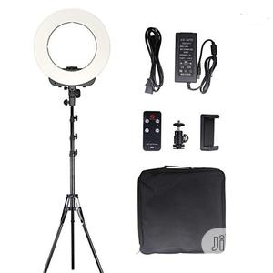 14 Inch LED Ring Light, Dimmable 41W 5500k Output Makeup   Accessories & Supplies for Electronics for sale in Lagos State, Ikeja