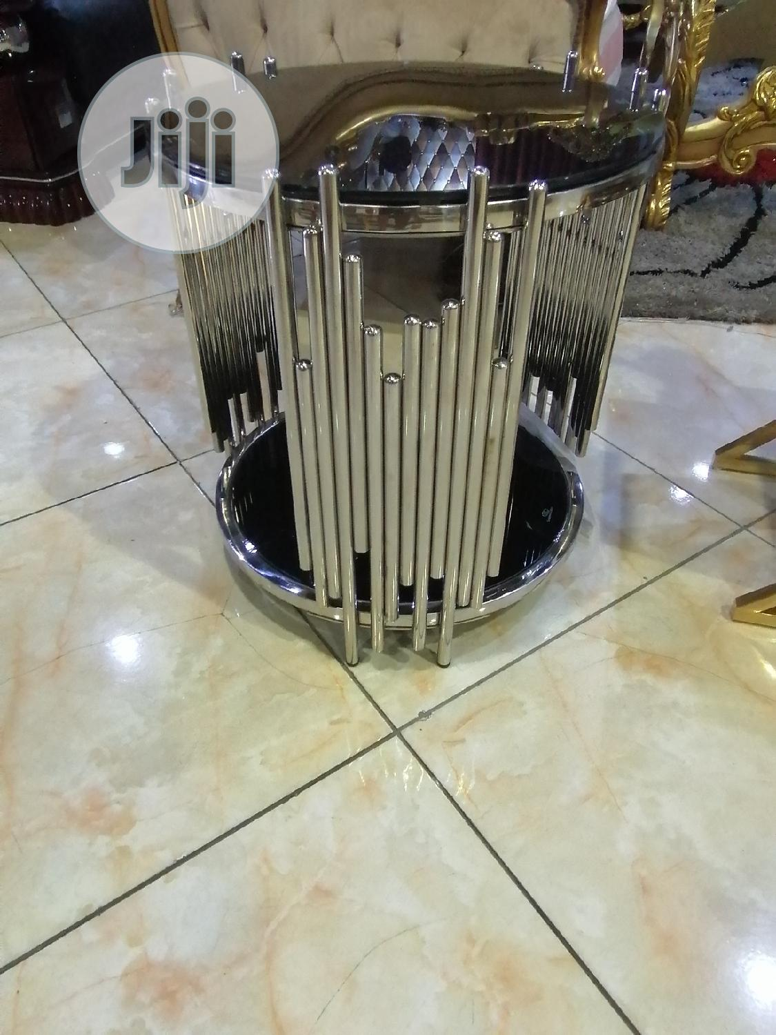 Archive: Turkish Stainless Centre Table Set