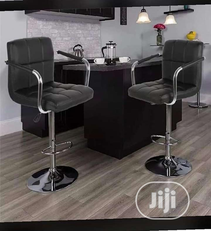 Unique Swivel Bar Stool With Arms And Backrest