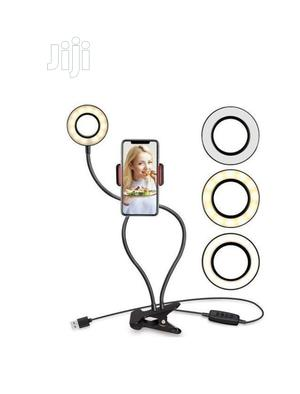Selfie Ring Light With Cell Phone Holder Stand | Accessories for Mobile Phones & Tablets for sale in Lagos State, Lagos Island (Eko)