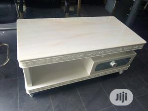 Good Quality Center Table And Tv Shelf Marble Top   Furniture for sale in Lagos State, Lekki