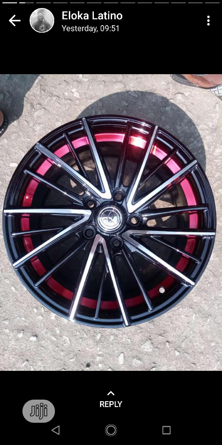 Alloyd Wheel Belgium And New One | Vehicle Parts & Accessories for sale in Port-Harcourt, Rivers State, Nigeria