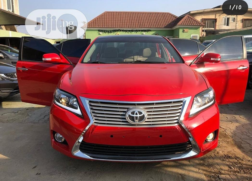 Upgrade Your Toyota Camry To Lexus Face