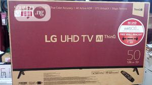 LG 50inches TV Smart 4K Uhd Model Un7340 Ai Thinq | TV & DVD Equipment for sale in Lagos State, Ifako-Ijaiye