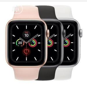T55 Smart Watch Full Screen Fitness Tracker, Makes Calls | Smart Watches & Trackers for sale in Lagos State, Ikeja