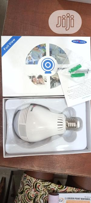 Wireless Spy Panoramic Light Bulb Camera Plus 32gb Sd Card. | Security & Surveillance for sale in Lagos State, Ikeja