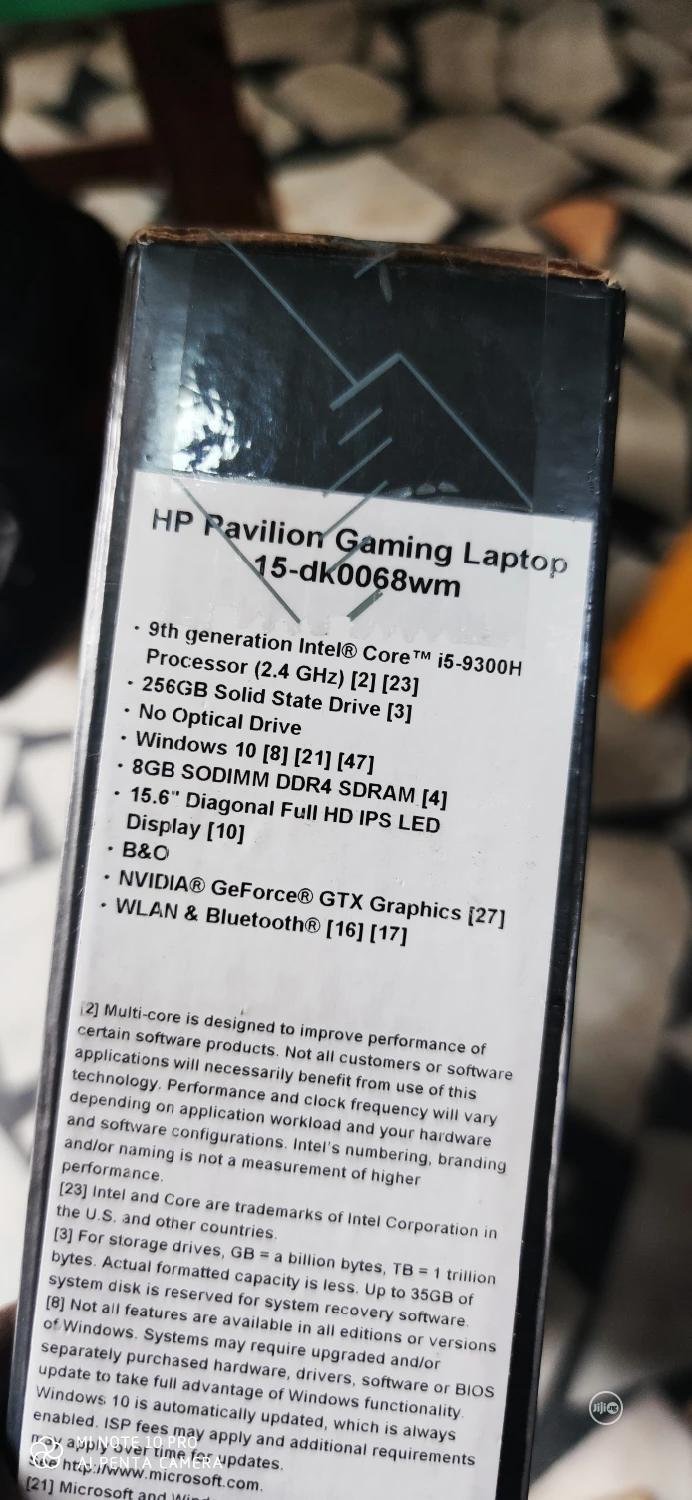 New Laptop HP Pavilion Gaming 15 2019 8GB Intel Core i5 SSD 256GB | Laptops & Computers for sale in Apapa, Lagos State, Nigeria
