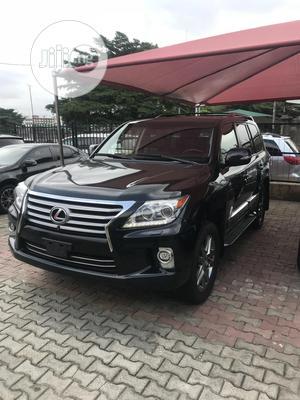 Lexus LX 2015 570 Base Black   Cars for sale in Lagos State, Ikeja