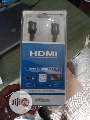 High Speed HDMI To HDMI Cable (Compatible With PS3)   Accessories & Supplies for Electronics for sale in Lagos State, Ojo