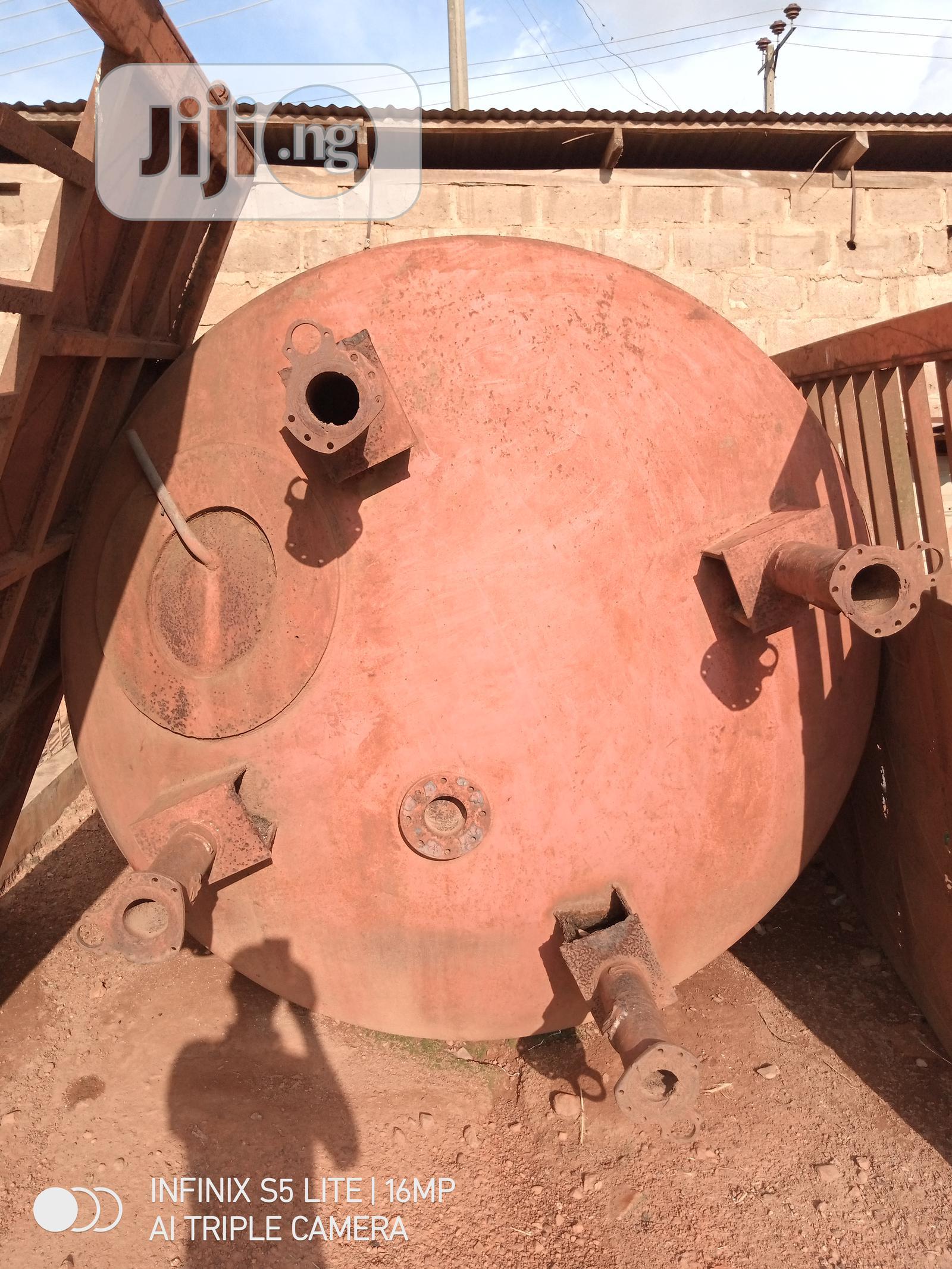Archive: Kerosene Tank.