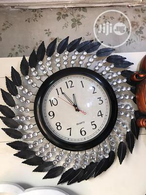 Large Feather Like Wall Clock | Home Accessories for sale in Lagos State, Agege