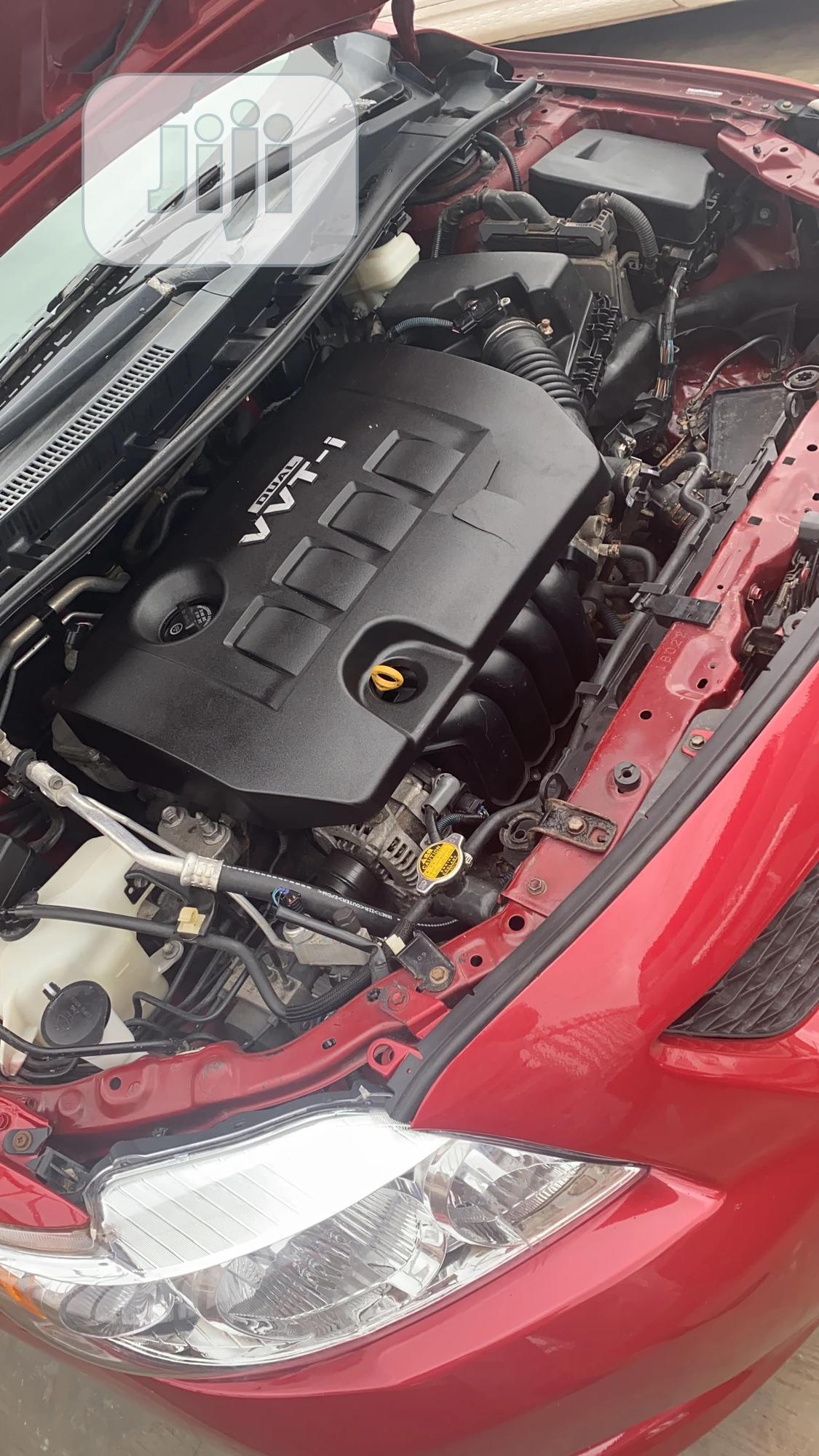 Toyota Corolla 2009 Red | Cars for sale in Ibadan, Oyo State, Nigeria