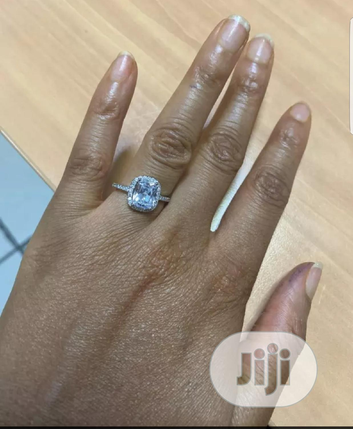 Ruby Ring Stering Silver Engagement Ring   Wedding Wear & Accessories for sale in Ikeja, Lagos State, Nigeria