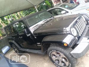 Jeep Wrangler 2016 Sahara 4x4 Black | Cars for sale in Lagos State, Amuwo-Odofin