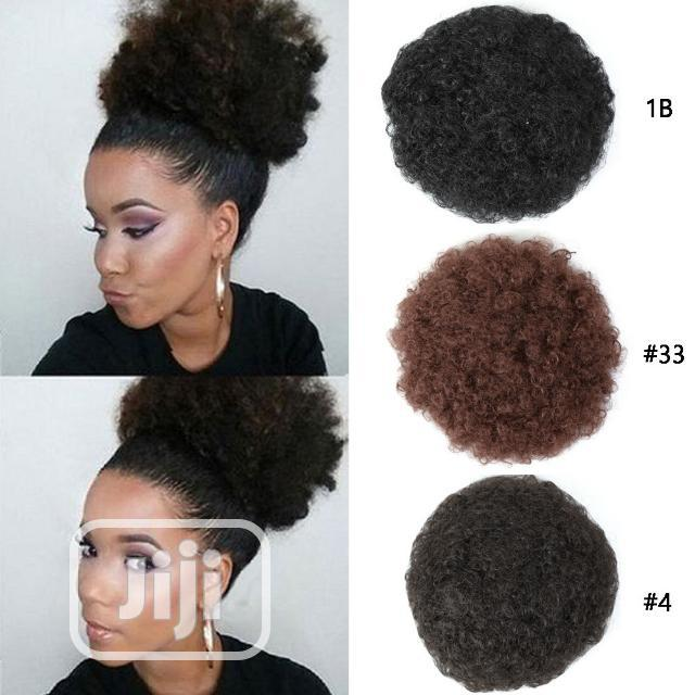 Archive: Beautiful Afro Hair Buns for Sale.