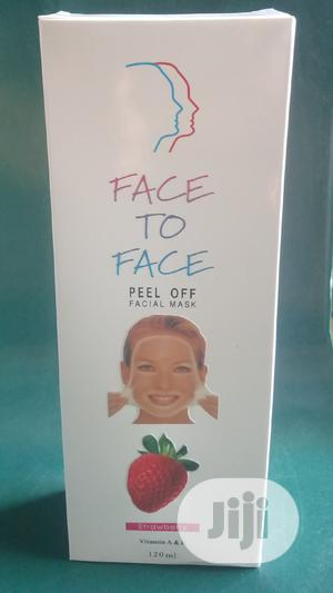 Face to Face Peel Off Facial Mask With Vit.A E -Strawberry | Skin Care for sale in Lagos State, Alimosho