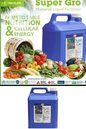 Organic SUPER GRO Fertilizer (5 Litres) | Feeds, Supplements & Seeds for sale in Lagos State, Ajah
