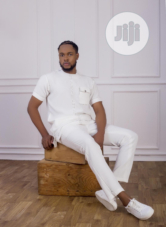 Archive: White Casual Men's Suit - Vanskere